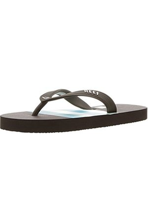Reef Boys' Grom Switchfoot Prin / Flip Flops, Multicolor