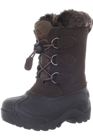 Kamik Unisex Kids' SNOWDASHER Warm lined snow boots half length