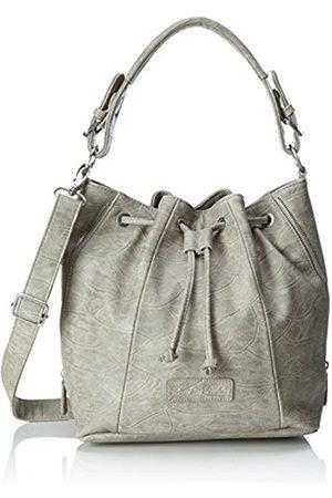 Fritzi aus Preussen Feline, Women's Shoulder Bag, Grau (Metal)