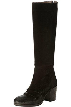 Fru.it Women's 2607 Boots Noir (Velours Nero) 4