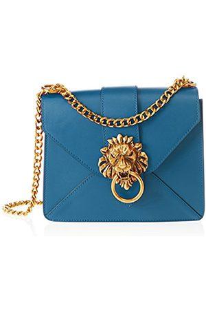 Chicca borse Women's CBS178484-453 Shoulder Bag (petrolio petrolio)