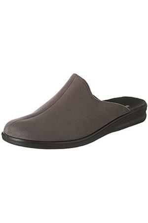 Romika Men's Präsident 445 Slippers Grey Size: 6.5