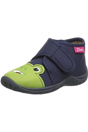 Beck Boys' Frog Cold Lined Low House Shoes Size: 8 Child UK