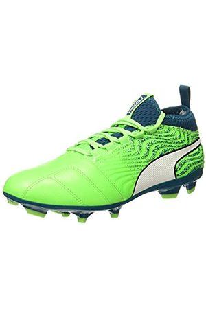 Puma Men's One 18.3 FG Football Boots, ( Gecko -Deep Lagoon 04)
