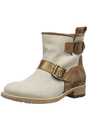 NoBrand Womens Bluebell Unlined classic boots half length Weiß (oro sand) Size: 6