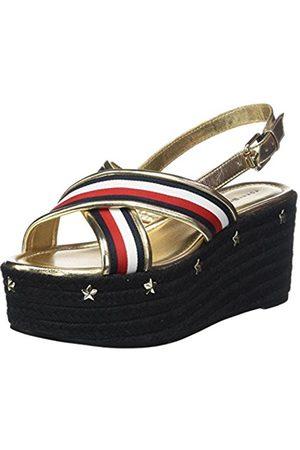 Tommy Hilfiger Women's Corporate Ribbon Flatform Sandal Espadrilles