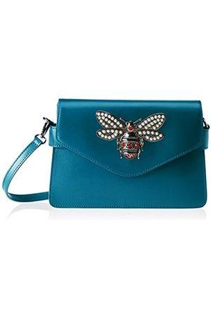 Chicca borse Women's CBS178484-522 Shoulder Bag (petrolio petrolio)