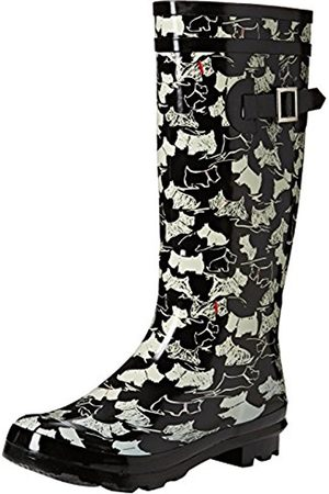Romirub 11 Little Dogs, Womens Unlined Rubber Boots Half Shaft Boots & Bootees Romika