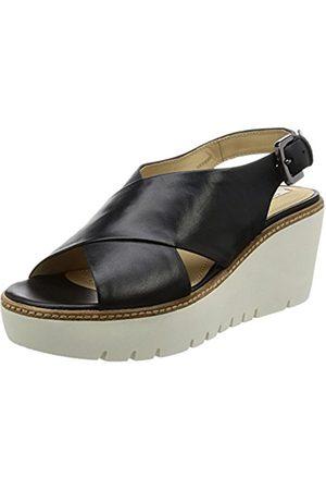 Geox D Domezia C, Women's Wedge Heels Sandals