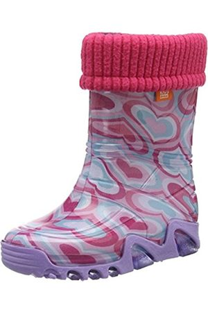 Lux Demar Girls Swirls Wellies from Toddler Size 4 UK to 12 (Toddler 30/31 (Kid's 12/12.5 UK))