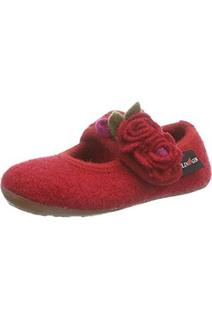Haflinger Girls' Fleur Unlined Low House Shoes Size: 2 UK