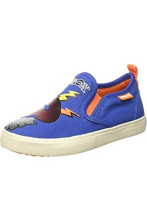 Geox Jr Kiwi D, Boys' Low-Top Sneakers