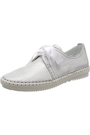 Womens 23630 Low-Top Sneakers, Black, 3 UK Tamaris