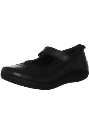 Hush Puppies Cindy 2 M Jnr Leather School Shoe H33857000 10 UK Junior