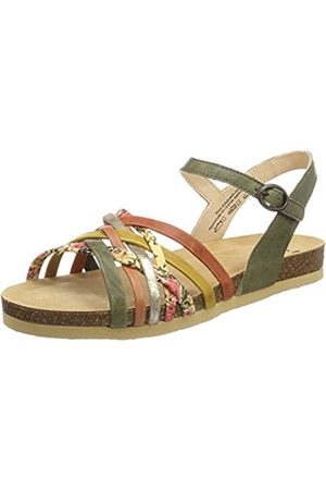 Womens Traudi_282579 Ankle Strap Sandals, Multicoloured Think