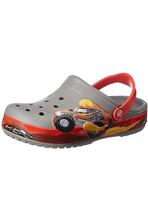 Crocs Crocband Monster Truck K Unisex Kids' Clogs - (Smoke)
