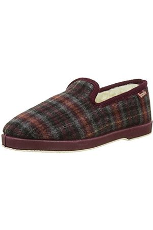 Wamba By Victoria Women's Copete Paño Cuadros Low-Top Slippers