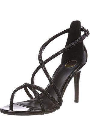 Womens 317-3109 Satin Ankle Strap Sandals Buffalo Vs5uWX