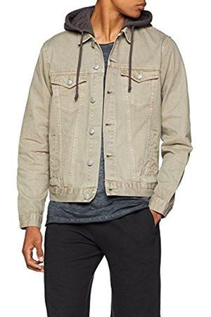 New Look Men's Jersey Denim Jacket