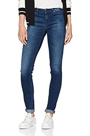 Tommy Hilfiger Women's Mid Rise Nora Chdbst Skinny Jeans