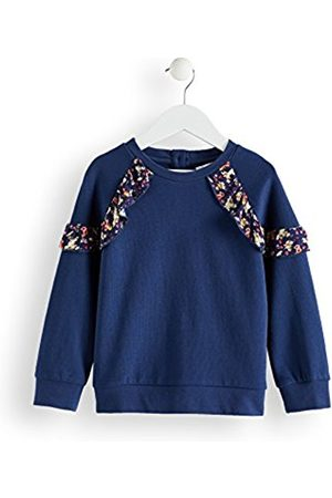 RED WAGON Girl's Floral Frill Sweatshirt