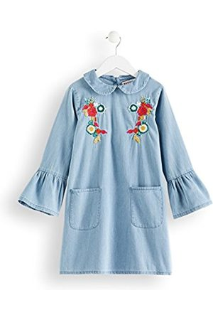 RED WAGON Girl's Embroidered Denim Dress