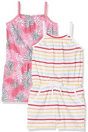 Name it Baby Girls' Nmfvigga 2p Strap Suit D Short