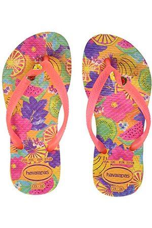 Havaianas Girls' Kids Slim Summer Flip Flops