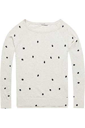 Scotch&Soda Maison Women's Long Sleeve Pull with Various Allover Prints Jumper