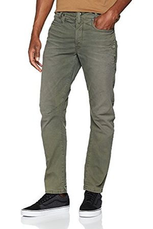 G-Star G-Star Men's D-STAQ 3D Straight Coj Tapered Fit Jeans, (Smoke )