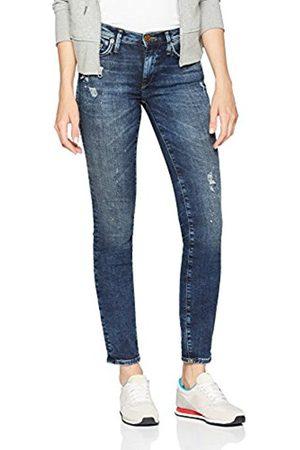 True Religion Women's New Halle Crop Cool Wash Denim Skinny Jeans