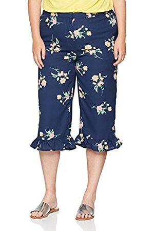 Simply Be Women's Print Crop Trousers, ( Print)
