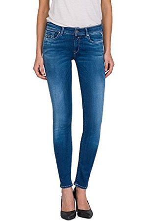 Replay Women's Luz Skinny Jeans, Mid Denim 10
