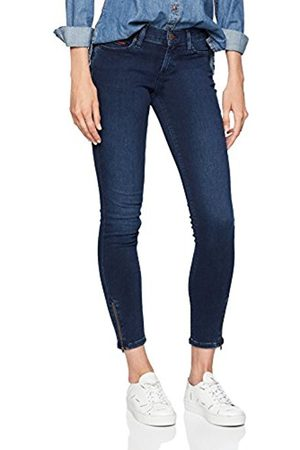 Tommy Hilfiger Women's Mid Rise Nora 7/8 Zip Dudbst Skinny Jeans