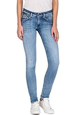 Replay Women's Luz Coin Zip Skinny Jeans