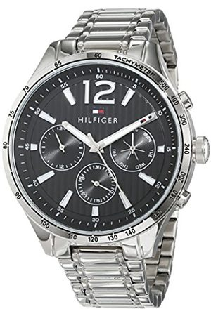 Tommy Hilfiger Unisex-Adult Multi dial Quartz Watch with Stainless Steel Strap 1791469