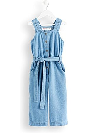 RED WAGON Girl's Chambray Waist Tie Playsuit