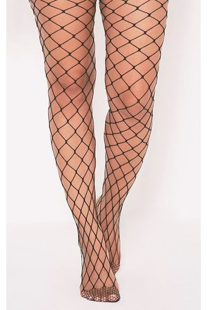 PRETTYLITTLETHING Women Tights - Inari Large Fishnet Tights