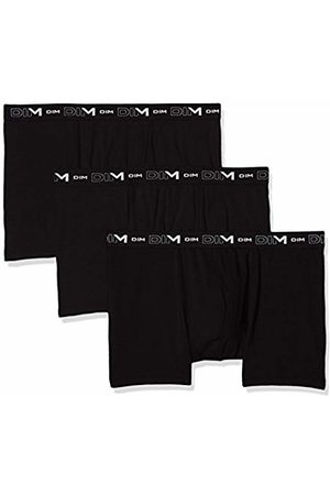 Dim Men's Coton Stretch Boxer X3 Swim Trunks, (Noir/Noir/Noir 0hz)