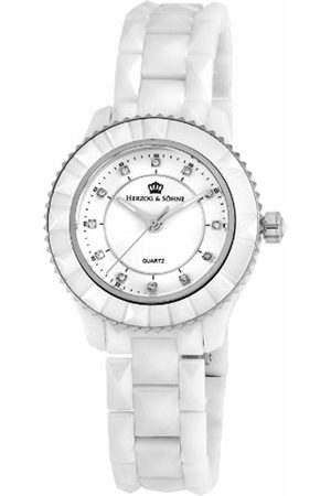 Herzog & Shne Herzog & Söhne Ladies' Watch XS Analogue Quartz Ceramic HSW0A-586A