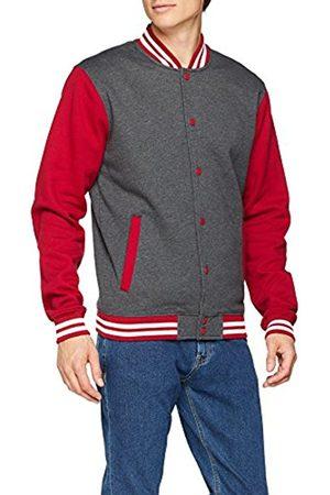 Urban classics Men's's 3-Tone College Track Jacket (charubwht 00317) Medium