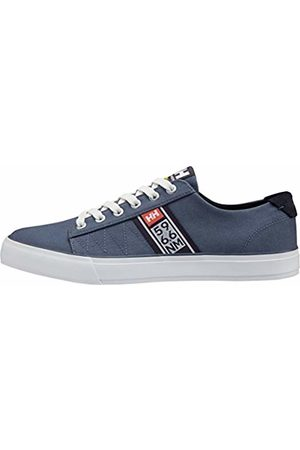 Helly Hansen Men's Salt Flag F-1 Boating Shoes, Vintage Indigo/Graphite /Off /Paprika