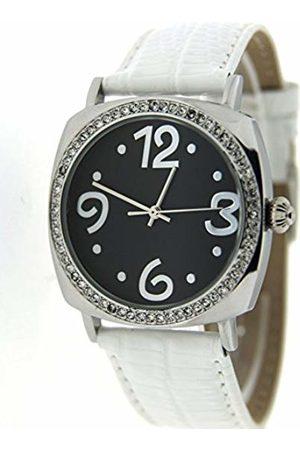 Pierre Chaubert Women's Quartz Watch 8119 with Leather Strap
