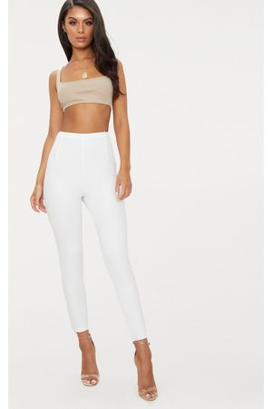 PRETTYLITTLETHING High Waisted Pleat Front Detail Trouser