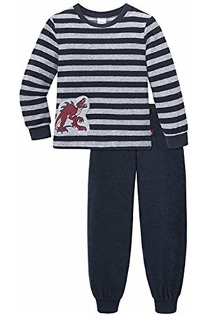 Schiesser Boy's NICI Kn Schlafanzug Lang Pyjama Sets, -Grau (Anthrazit 203)