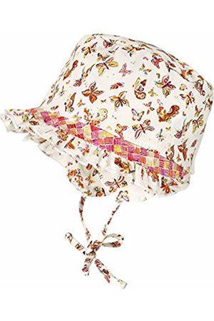 maximo Baby-Girls Jerseyeinsatz Rüschenkrempe UPF 15 Hat
