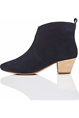 FIND Leather Western Ankle Boot
