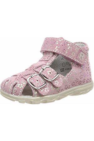 Richter Kinderschuhe Terrino, Girls' Closed Sandals with Wedge Heel