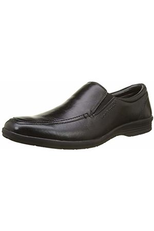 Hush Puppies SAMY, Men's Loafers, (Noir Perm 8)