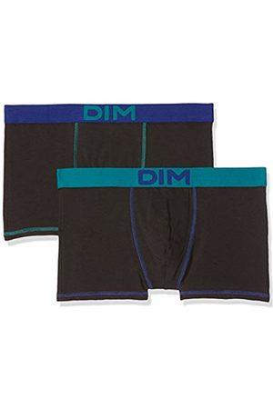 Dim Men's Mix and Colors Boxer X2 Swim Trunks, (Noir Ct Bleu Turquoise/Noir Ct Bleu Indigo 6w0)